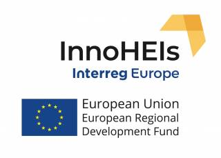 InnoHEIs - Interreg Europe - European Union - European Regional Development Fund