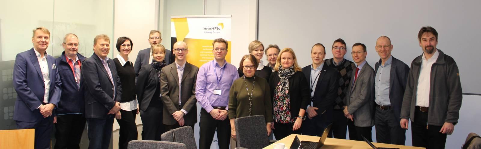 InnoHEIs-hankkeen sidosryhmätapaaminen 21.1.2020