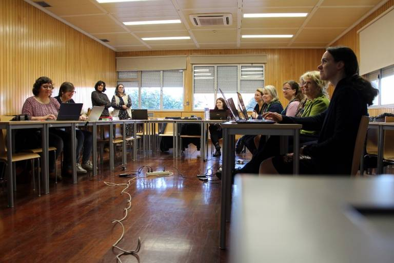 DigiNurse Project Consortium on the first day of the Coimbra Meeting.