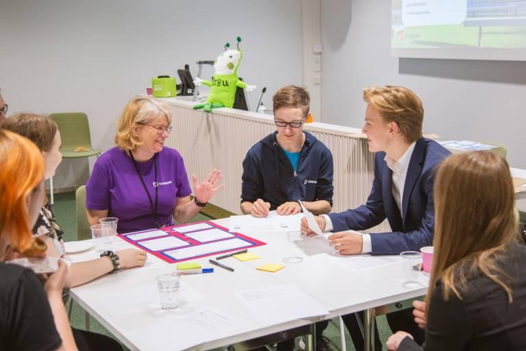 A PB workshop at Tampere